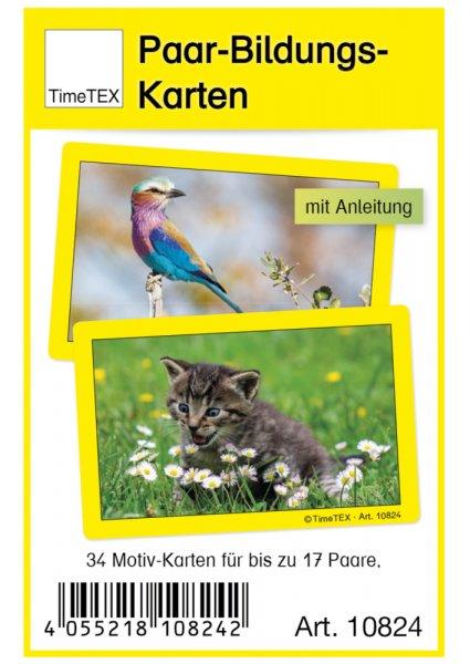 TimeTEX Paar-Bildungs-Karten, 35-tlg. im Etui
