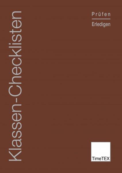 TimeTEX Klassen-Checklisten, A4
