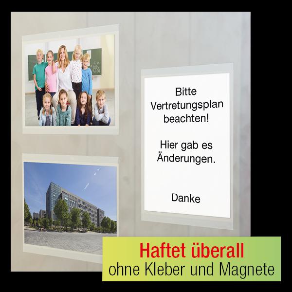 TimeTEX Foto-Einstecktaschen 13x18 cm, selbsthaftend, 3-tlg.