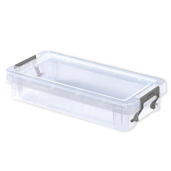 Kunststoff-Box stapelbar, transparent, 0,75 Liter