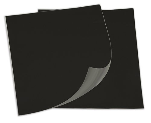 Tafelfolie A4 selbstklebend, schwarz, 2 Stück