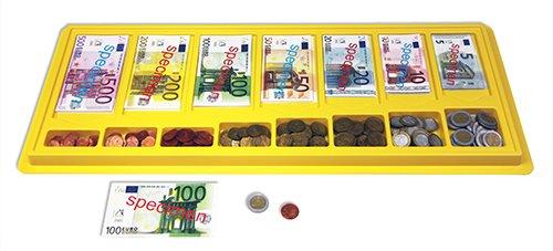Set Euro-Rechengeld in Kassette, 290-tlg.