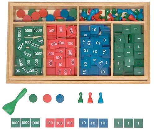 Markenspiel, Komplettset, 344-tlg. in Holz-Box