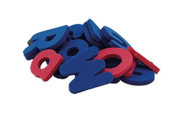 Magnet-Buchstaben in Dose, ca. 4 cm, 104 Stk.