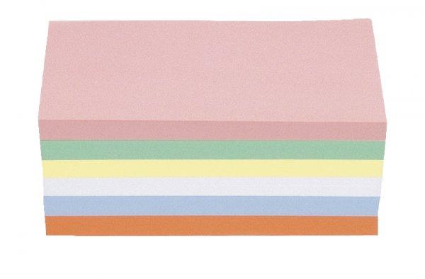 Moderationskarten, farb.sort., rechteckig, 9,5 x 20,5 cm, 250 Stck.