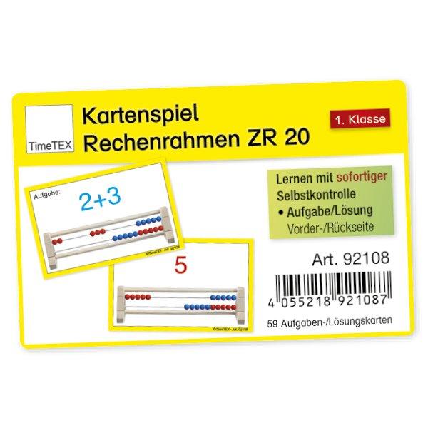 """Kartenspiel """"Rechenrahmen"""", 60-tlg."""