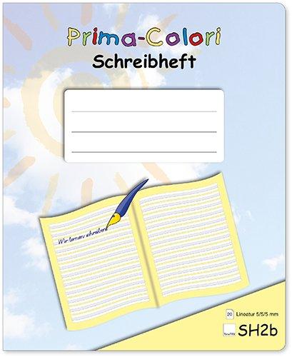 Prima-Colori Schreibheft SH2b