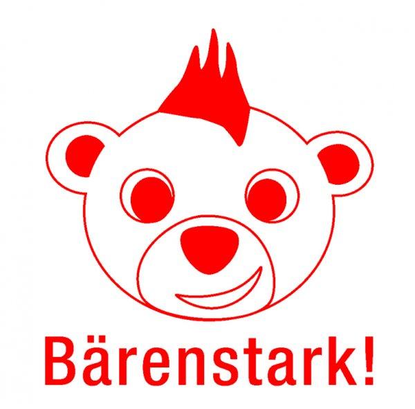 """Siebdruck-Stempel """"Perpetuum"""", """"Bär-Bärenstark"""""""