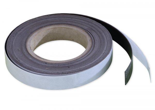 Magnet-Streifen selbstklebend, 30 mm, 10 m