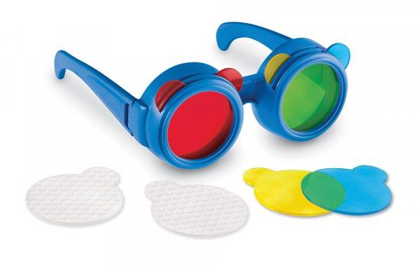 Farbmischbrille, ca. 14 x 3 cm