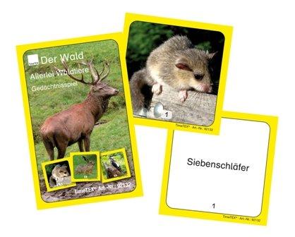 Kartenspiel Allerlei Waldtiere