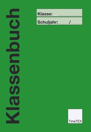 TimeTEX Klassenbuch A4-Plus, SEK + GS II./SO