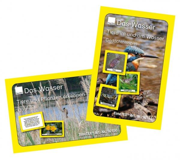 Lebensraum Wasser - Kartenspiel-Set