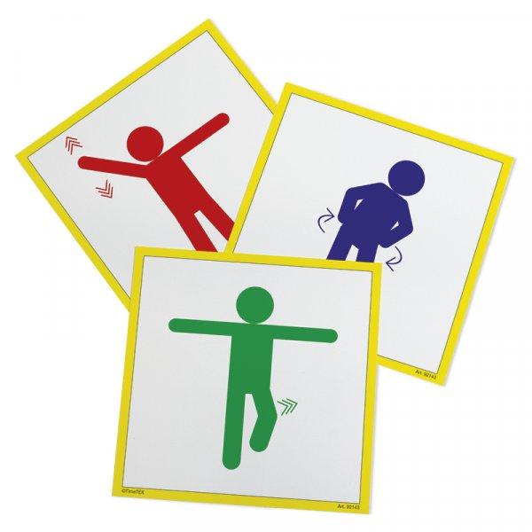 """Aktivitäten-Karten """"Bewegtes Lernen"""" 20-tlg."""