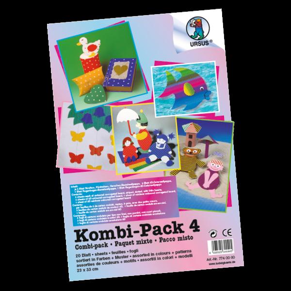 Aktionspaket Kombi-Pack Wellpappe 20-tlg.