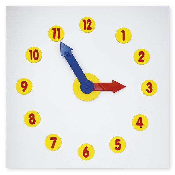 Magnetische Tafel-Lern-Uhr, 13-tlg.