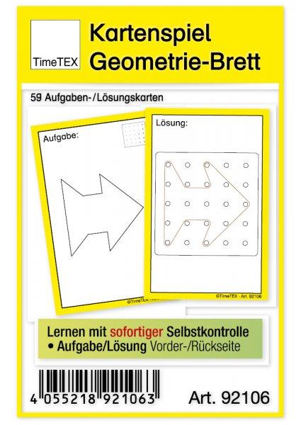 """Kartenspiel """"Geometrie-Brett"""", 59-tlg."""